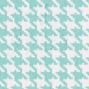 Aquamarine-Pied-De-Poule-Wallpaper_Mineheart_Treniq_0