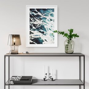 Teal-Waves-Wall-Art-Print_Abstract-House_Treniq_0