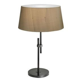 Black Brass Lamp With Shade