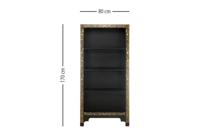 Chinese large bookcase the nine schools treniq 6