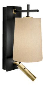 Satin-Black-And-Brushed-Brass-Wall-Light-With-Shade-And-Reading-Light_Lightology-Lighting-_Treniq_0