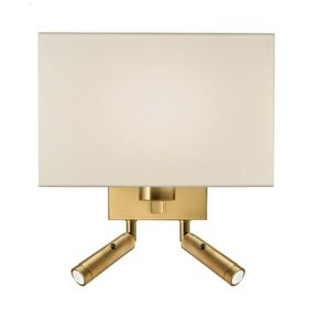 Combination-Wall-Light-With-Twin-Led-Reading-Light-In-Brushed-Brass_Lightology-Lighting-_Treniq_0