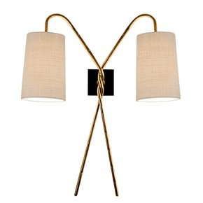Twist-Antique-Gold-Leaf-Wall-Light_Lightology-Lighting-_Treniq_0