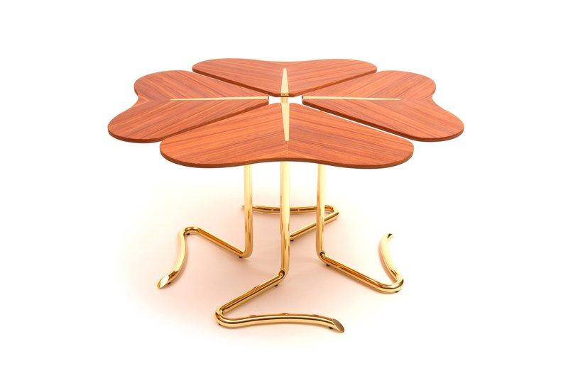 Four for luck center table insidherland treniq 1