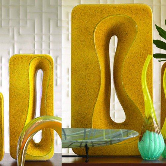 Rectangular amoeba vase yellow sm bas global treniq 1 1556273163977
