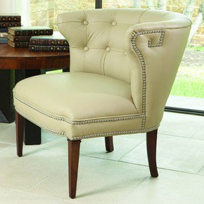 Greek-Key-Klismos-Chair-Beige-W/Nickel-Tacks_Bas-Global_Treniq_0