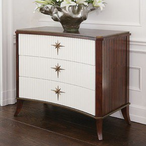 Klismos-3-Drawer-Cabinet-Walnut-W/Ivory-Doors_Bas-Global_Treniq_0