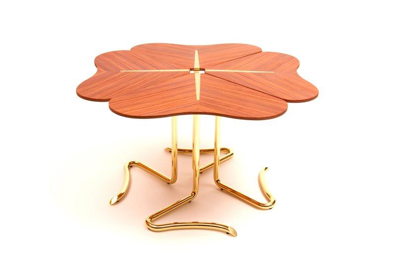 Four for luck center table insidherland treniq 2