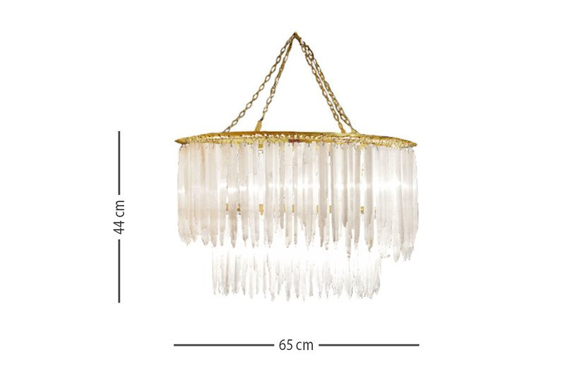 Sway 2 tier chandelier aura treniq 2