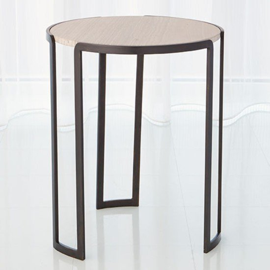 7.80494  channel accent table bronze