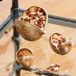 Chestnut Spoon-Brass