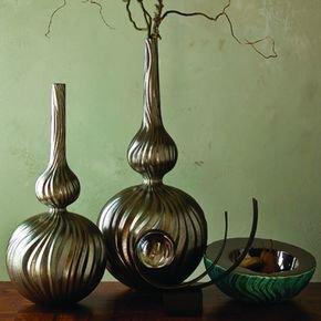 Magura Vase-Metallic-Med
