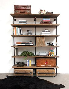 Saul-Industrial-Reclaimed-Scaffold-Board-And-Dark-Steel-Pipe-Shelving-_Urban-Grain_Treniq_0
