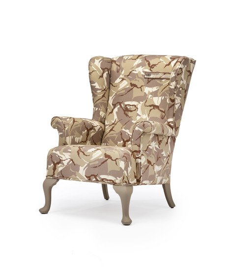 The army desert camo wing chair. rhubarbchairs treniq 1 1557252651783
