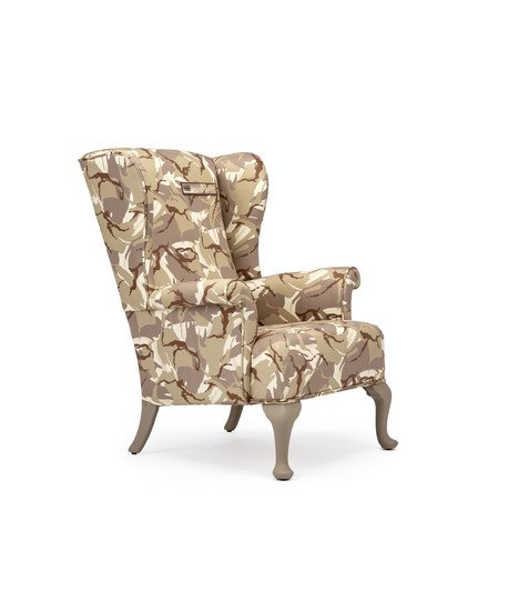 The army desert camo wing chair. rhubarbchairs treniq 1 1557252675194
