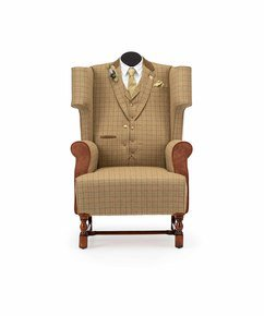 The-Country-Gent-Tweed-Wing-Chair-_Rhubarb-Chairs_Treniq_0