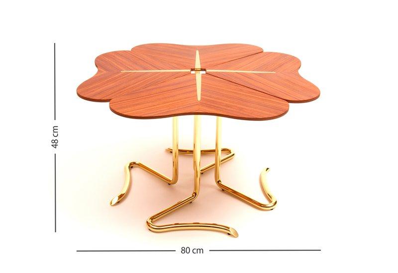 Four for luck center table insidherland treniq 8