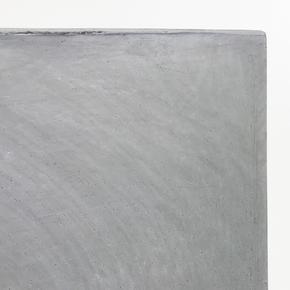 Contemporary Light Concrete Grey Trough Plante71831