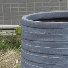 Row Stone Grey Light Concrete Vase Elegant Planter74748