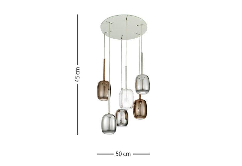 Gioia suspension lamp 929 milano treniq 5