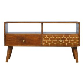 In349-2-Drawer-Chestnut-Media-Unit-With-Gold-Patterned-Drawer-Front-_Artisan-Furniture_Treniq_0