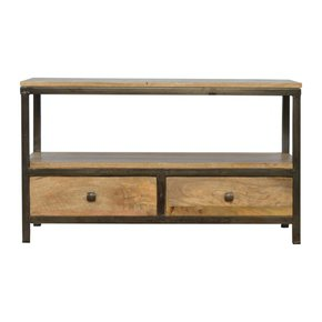 2-Drawer-Coffee-Table-With-Iron-Base_Artisan-Furniture_Treniq_0
