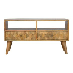 In223-2-Drawer-Media-Unit-With-Pineapple-Carved-Drawer-Fronts_Artisan-Furniture_Treniq_0