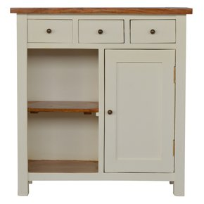In213-2-Toned-Kitchen-Unit-With-3-Drawer,-2-Open-Shelves_Artisan-Furniture_Treniq_0