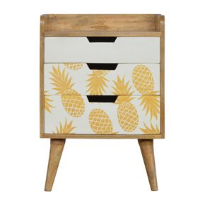 In668-3-Drawer-Bedside-With-Pineapple-Screen-Printed-Drawer-Fronts-_Artisan-Furniture_Treniq_0