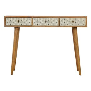 In149-3-Drawer-Geometric-Screen-Printed-Writing-Desk_Artisan-Furniture_Treniq_0