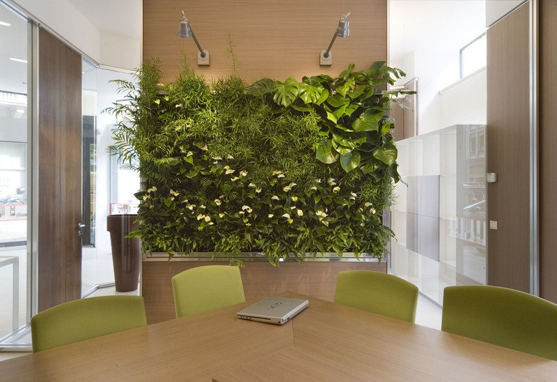 Indoor vertical gardens for offices panel iii sundar italia treniq 1