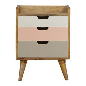 In276-Blush-Pink-Gradient-3-Drawer-Hand-Painted-Bedside_Artisan-Furniture_Treniq_0
