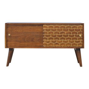In346-Chestnut-Sliding-Cabinet-With-Gold-Patterned-Door-Front-_Artisan-Furniture_Treniq_0