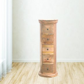 In153-Country-Style-Slim-Drum-Chest-With-5-Drawers_Artisan-Furniture_Treniq_0