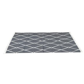In400-Dark-Grey-And-White-Triangle-Patterned-Rug-With-Tassels_Artisan-Furniture_Treniq_0