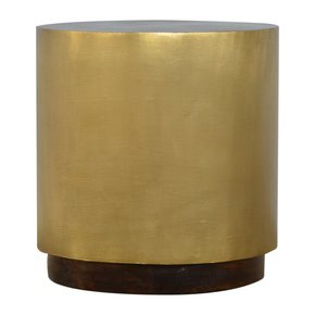 In482-Gold-Cylinrical-End-Table_Artisan-Furniture_Treniq_0