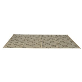 In406-Grey-Geometric-Pattern-Rug-With-Tassels_Artisan-Furniture_Treniq_0