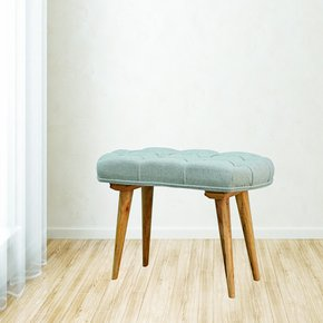 In145-Upholstered-Nordic-Style-Bench-With-Deep-Buttoned-Grey-Tweed-Top_Artisan-Furniture_Treniq_0