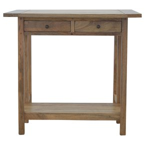 In115-Solid-Wood-Breakfast-Table-With-2-Stools_Artisan-Furniture_Treniq_0