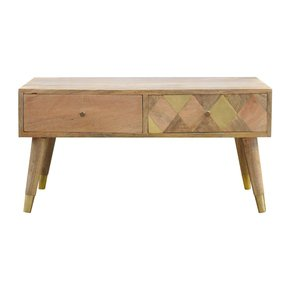 In377-Solid-Wood-2-Drawer-Coffee-Table-With-Gold-Brass-Insert-Drawer-Front_Artisan-Furniture_Treniq_0