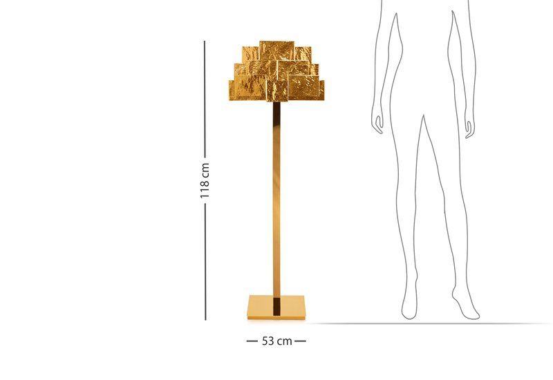 Inspiring trees floor lamp insidherland treniq 6