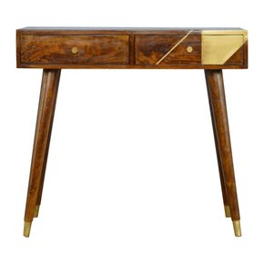 In431-Nordic-Style-Chestnut-Writing-Desk-With-Gold-Detailing-_Artisan-Furniture_Treniq_0
