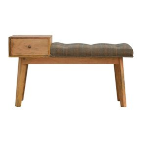 In292-Multi-Tweed-1-Drawer-Wooden-Bench_Artisan-Furniture_Treniq_0