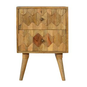 In270-Scandinavian-Style-2-Drawer-Bedside-With-Geometric-Hand-Carved-Fronts_Artisan-Furniture_Treniq_0
