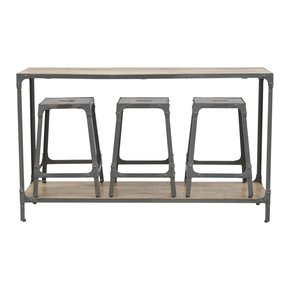 In253-Hallway-Console-Table-With-3-Nesting-Stools_Artisan-Furniture_Treniq_0