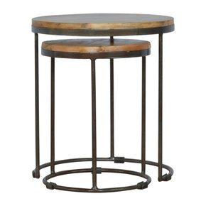 In224-Round-Stool-Set-Of-2-With-Iron-Base_Artisan-Furniture_Treniq_0