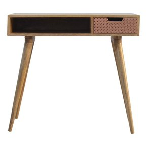 In221-Nordic-Style-Writing-Desk-With-1-Perforated-Copper-Front-Drawer_Artisan-Furniture_Treniq_0