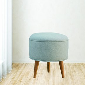 In140-Round-Nordic-Styled-Footstool-In-Grey-Tweed_Artisan-Furniture_Treniq_0