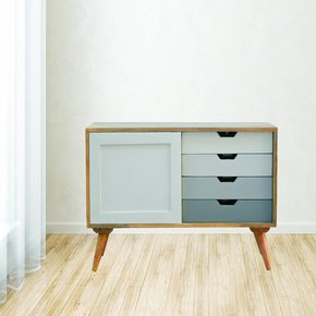 In136-Nordic-Cabinet-With-4-Drawers-&-Sliding-Cabinet_Artisan-Furniture_Treniq_0