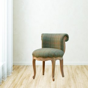 In083-Petite-French-Chair-Upholstered-In-Multi-Tweed_Artisan-Furniture_Treniq_0
